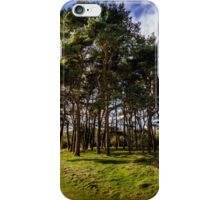 Clent Hills Blue Sky iPhone Case/Skin