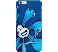 Blue Color Chakra Flowerkid iPhone Case/Skin