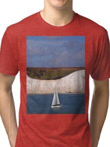 White Cliffs Of Dover Tri-blend T-Shirt