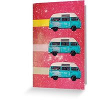 Color Chaos Collection -- Off We Go Greeting Card