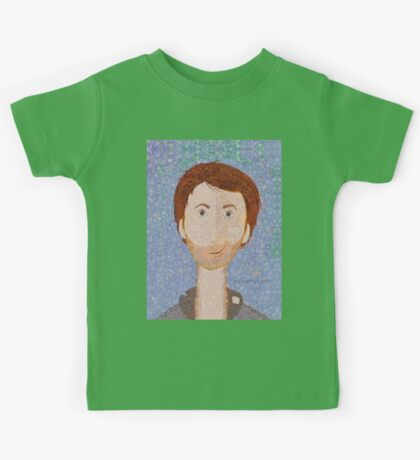 THE MAN ALL TATTERED AND TORN Kids Tee