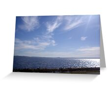 Port Stephens (Nelsons Bay) NSW Greeting Card