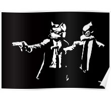 Pulp Fox-tion Poster