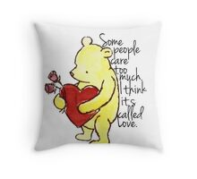I Think It's Called Love Throw Pillow