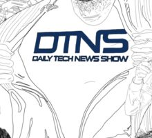DTNS Super Tech Drawing Shirts (assorted styles and colors) Sticker