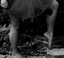 Barefoot Ballerina by MentalPhoto