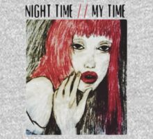 night time, my time. by Jessica Garcia