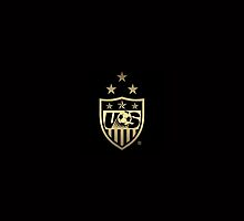 NEW USWNT Black and Gold Logo by USWNT-fan