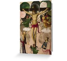 Saints Collection -- re-birth Greeting Card