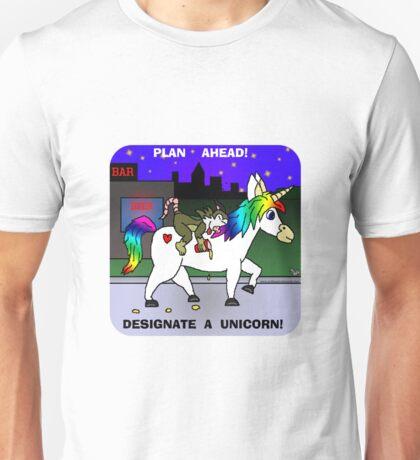 Designate A Unicorn Unisex T-Shirt