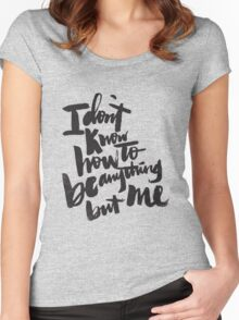 anything but me Women's Fitted Scoop T-Shirt