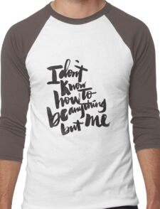 anything but me Men's Baseball ¾ T-Shirt