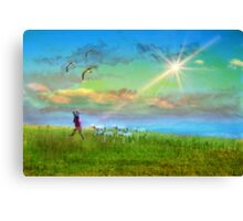 A Child of the Kingdom Canvas Print