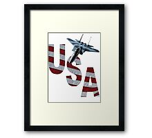 US Air Force F-15  Framed Print