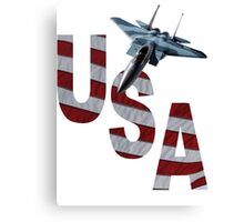 US Air Force F-15  Canvas Print
