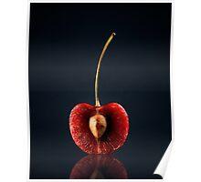 Red Cherry Still Life Poster