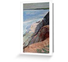 Aldinga Cliffs - South Australia Greeting Card