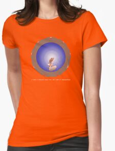 Left turn at Albuquerque Womens Fitted T-Shirt