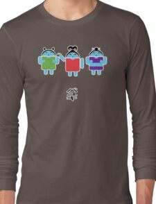 Droidarmy: Fruity Oaty Droids Long Sleeve T-Shirt
