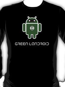 Droidarmy: Green Lantern (text) T-Shirt