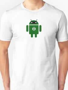 Droidarmy: Green Lantern (text) T-Shirt