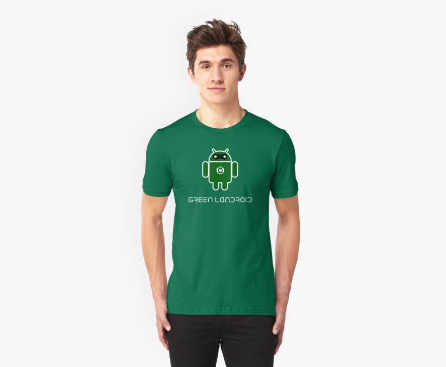 Droidarmy: Green Lantern (text) by Nana Leonti