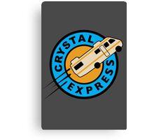 Crystal Express Canvas Print