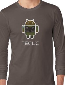 Droidarmy: Teal'c SG-1 Long Sleeve T-Shirt
