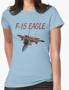 F-15 Eagle Womens Fitted T-Shirt
