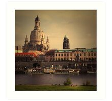 The City In Your Head - Dresden Art Print