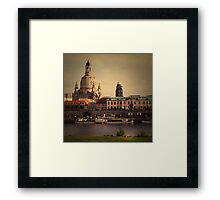 The City In Your Head - Dresden Framed Print
