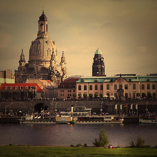 The City In Your Head - Dresden by Eric Strijbos