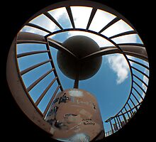 Top of the Spiral Staircase by Daniel Owens
