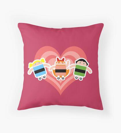 Droidarmy: The Powerpuff Droids Throw Pillow