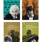 Doctor Who novels Penguin style by JGarrattley
