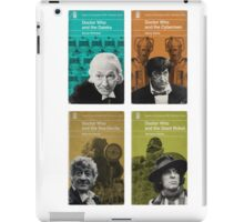 Doctor Who novels Penguin style iPad Case/Skin