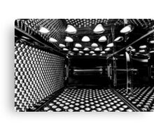 Life Inside A Cheese Grater Canvas Print