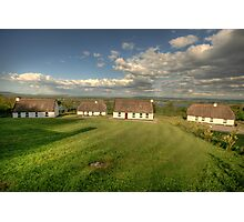 Corofin Thatched Cottages Photographic Print