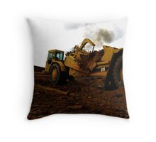 work site  Throw Pillow