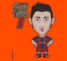 David Villa FC Barcelona by alexsantalo
