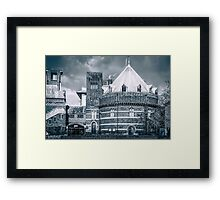 Royal Shakespeare Company Theatre (Mono) Framed Print