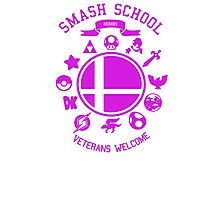Smash School Veteran Class (Magenta) Photographic Print