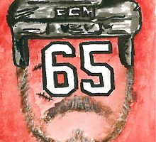 Andrew Shaw Playoff Beard by melissapeterson