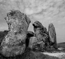 West Kennet Long Barrow #1 by Samantha Higgs