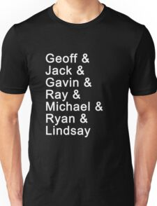the cast Unisex T-Shirt
