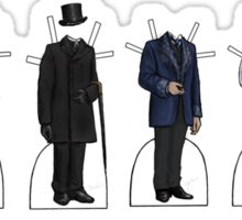James Mason as Dr. Watson Paper Dolls Sticker