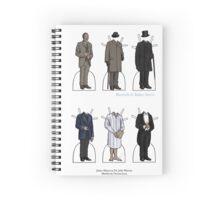James Mason as Dr. Watson Paper Dolls Spiral Notebook