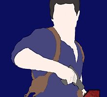 Eternally wandering Nathan Drake: silhouette by JDavies12