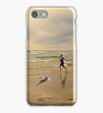The Girl and The Seagull iPhone Case/Skin