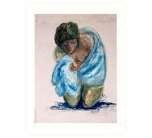 Birth of a child. Art Print